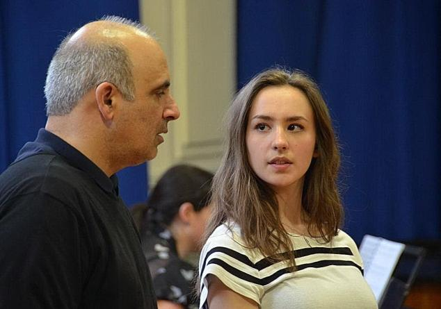 Teaching Evita at Wirral Grammar School