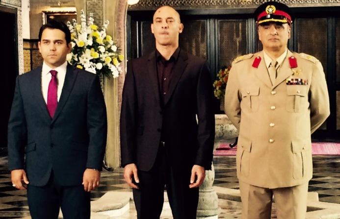 Tyrant Fox TV with Cameron Gharaee and Ashraf Barhom
