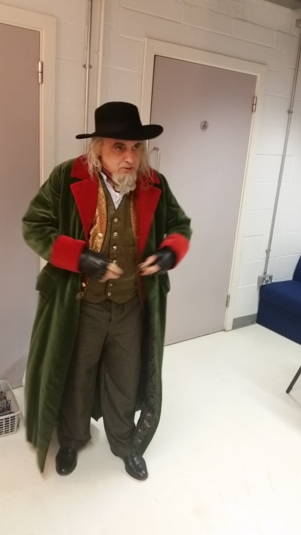 As Fagin in Oliver!