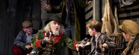 Fagin in Oliver! at The Curve Leicester