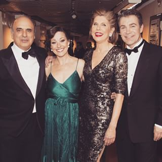 Poly, Ruthie Henshall, Christine Baranski and Alex Hansen