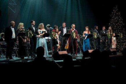 A Christmas Carol curtain call Lyceum Theatre