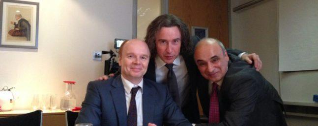 Jason Watkins, Steve Cougan and PP in The Lost Honour Of Christopher Jeffries