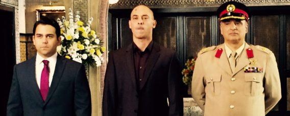 As Col Mahmoud in Tyrant - FoxTV