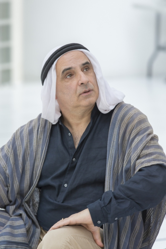 As Auda Abu Tayi in Ross for CFT