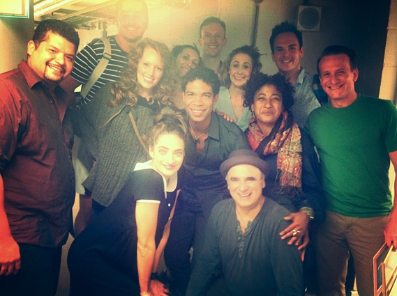 Backstage Guys and Dolls Carlos Acosta