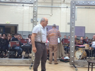 Follies with Orchestra Rehearsal pic
