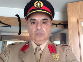 Close up on Col Mahmoud