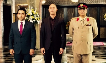 Cameron Gharahee, PP and Ashraf Barhom