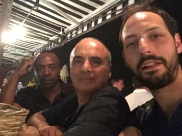 Aryon Bakare, PP and Philip Arditti