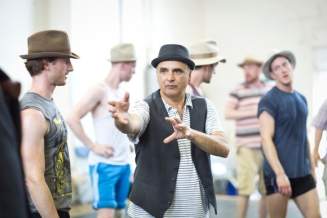 Rehearsals Guys and Dolls
