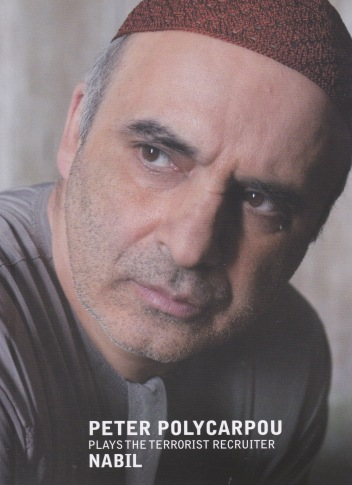 Cleanskin the movie. Publicity still of the character Nabil