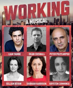The Working cast of Southwark Playhouse