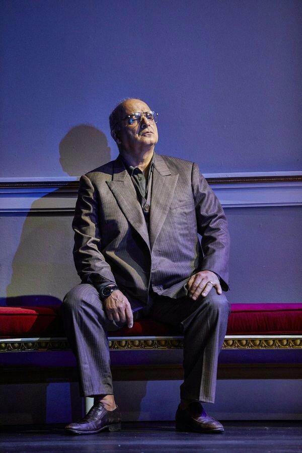 Oslo: NT Lyttleton Theatre PP as Ahmed Qurie. Photo Credit: Brinkhoff Mögenburg