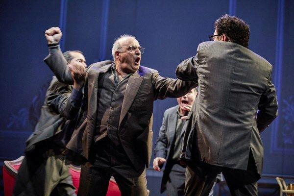 Oslo Company: NT Lyttleton Theatre. Photo Credit: Brinkhoff Mögenburg