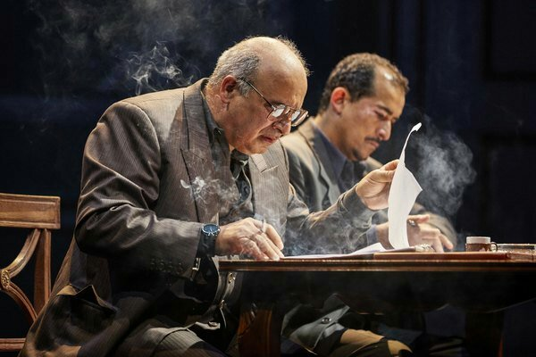 PP as Ahmed Qurie and Nabil Elouahabi as Hassan Asfour