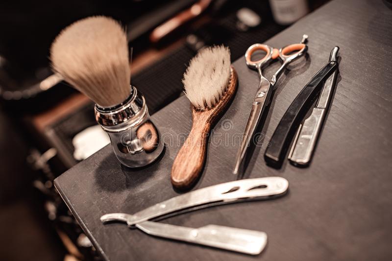 shaving-accessories-tools-barber-shop-wooden-background-tools-barber-shop-117746283